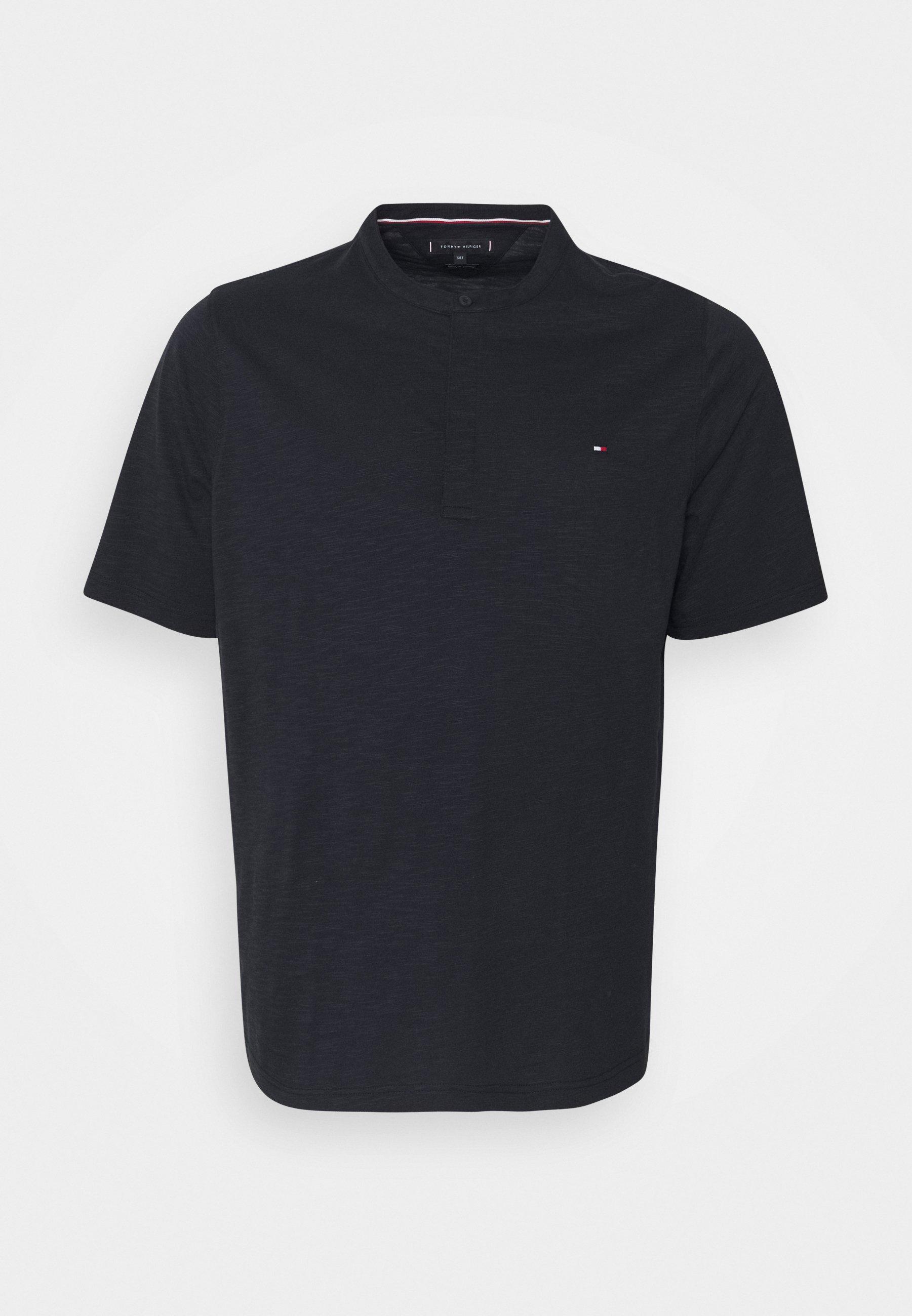 Men SLUB HENLEY - Basic T-shirt