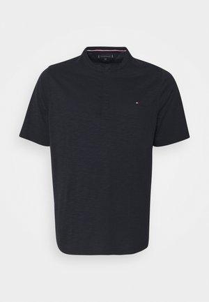SLUB HENLEY - T-shirt - bas - desert sky