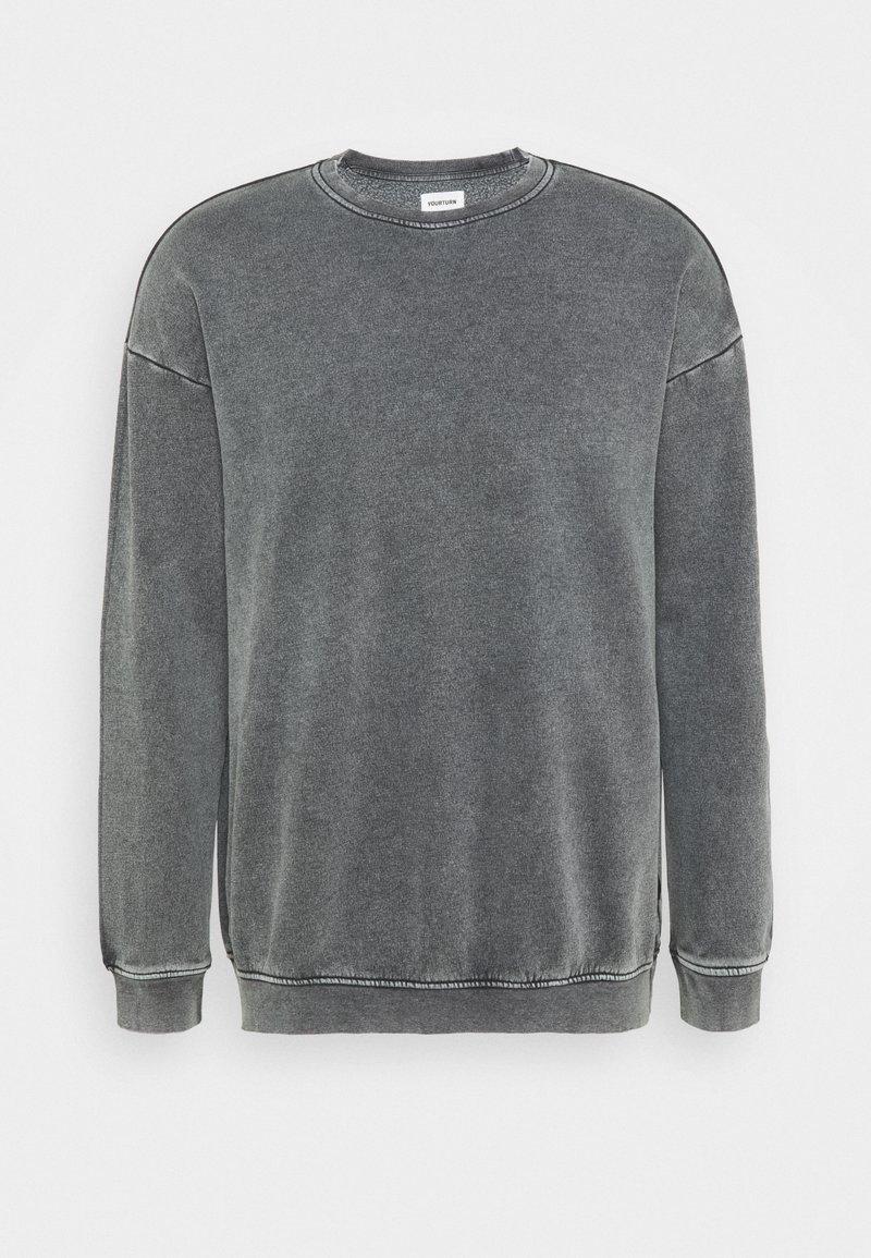 YOURTURN - UNISEX - Sweatshirt - grey