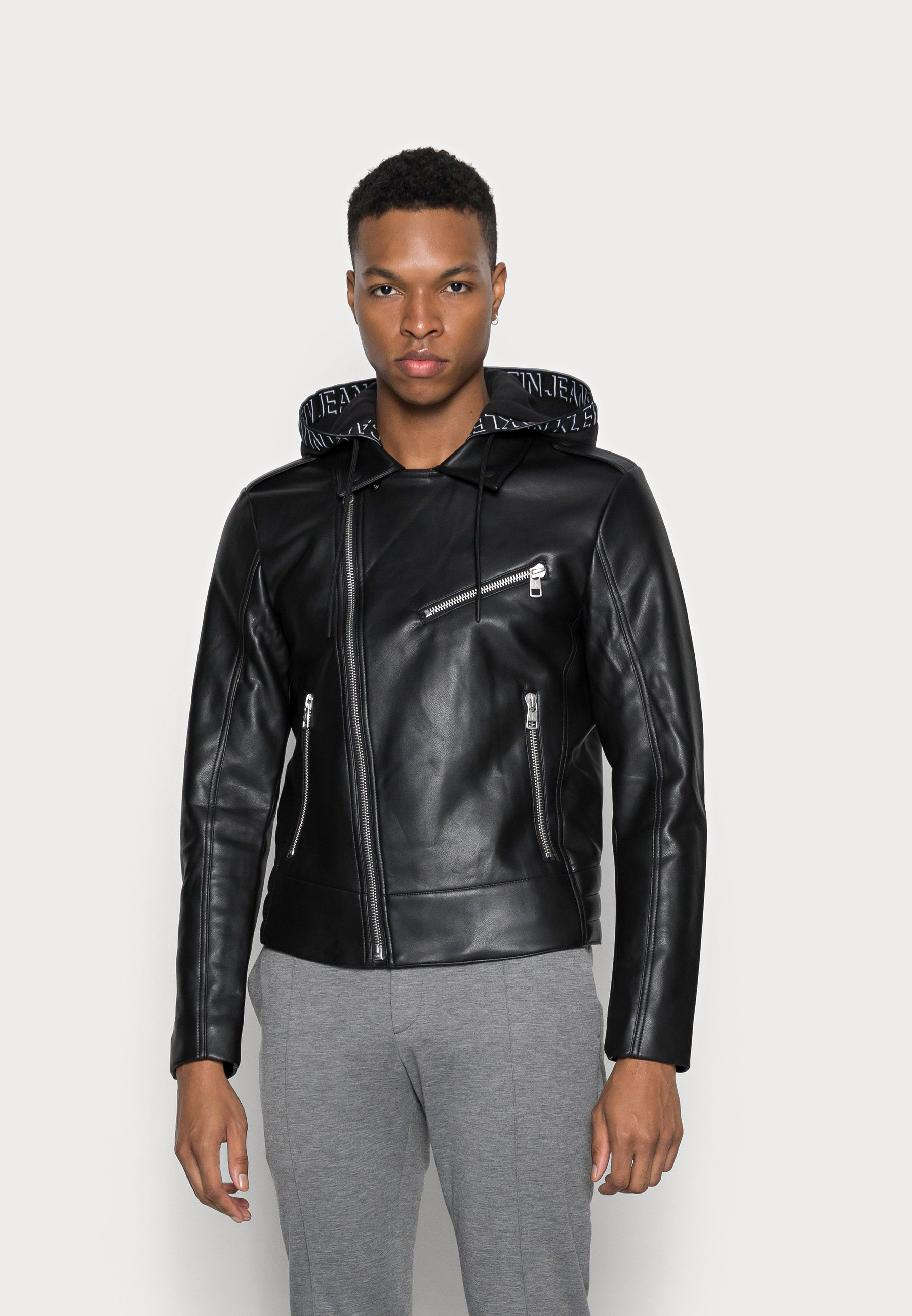 Uomo FAUX LEATHER JACKET - Giacca in similpelle
