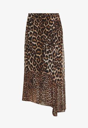 Maxi skirt - wild cat