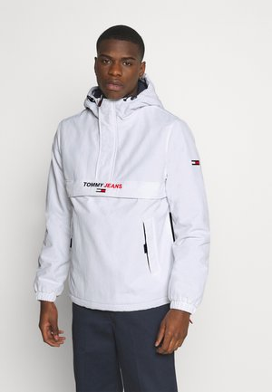 SOLID POPOVER JACKET UNISEX - Windbreakers - white