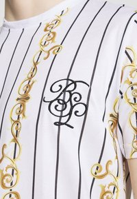 Brave Soul - CALOR - T-shirt imprimé - optic white - 4