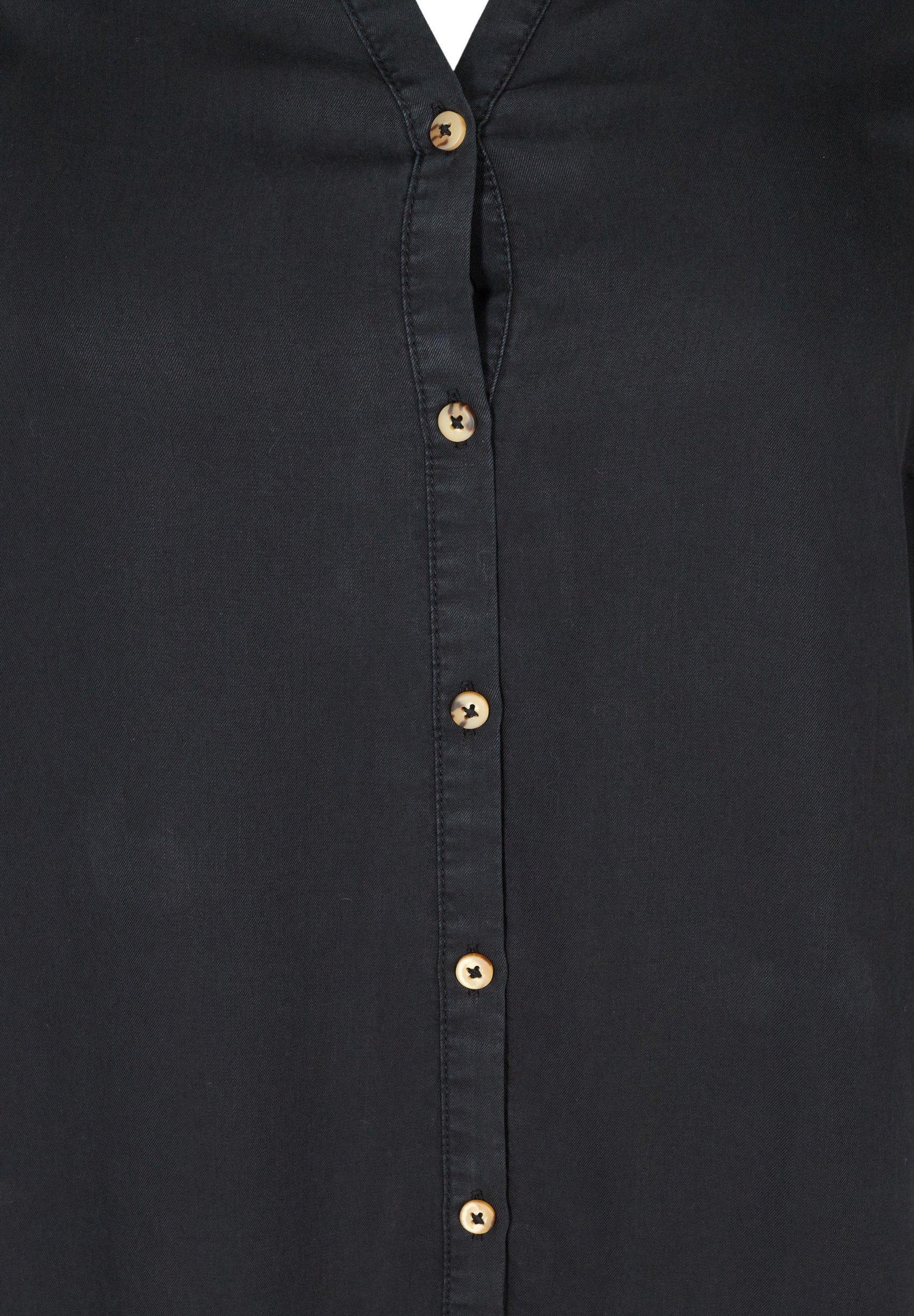 Zizzi Blusenkleid black/schwarz