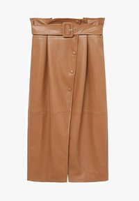 Mango - CARLO-I - Wrap skirt - marron - 5