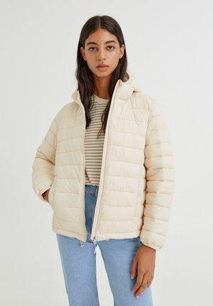 BASIC-STEPP  - Down jacket - mottled beige