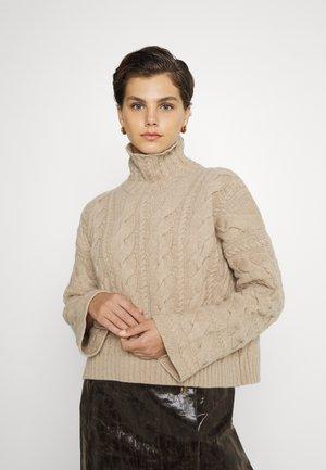 MARINA - Strickpullover - beige