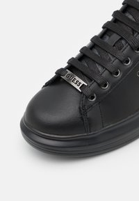 Guess - SALERNO - Trainers - black/burnis cognac - 5