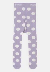 Ewers - DOTS 2 PACK - Tights - white/purple - 2