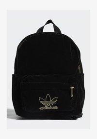 adidas Originals - SMALL VELOUR ADICOLOR - Batoh - black/gold met. - 0