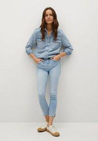 Mango - ISA - Jeans Skinny Fit - lichtblauw - 1