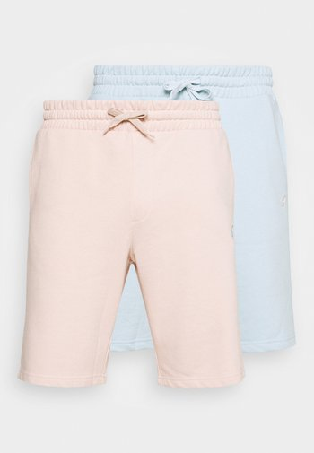 2 PACK - Shorts - pink/light blue