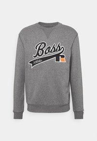 BOSS - BOSS X RUSSELL ATHLETIC STEDMAN - Sweatshirt - medium grey - 5
