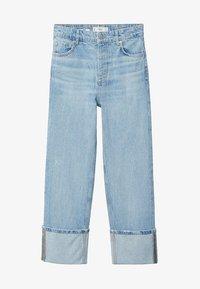 Mango - Straight leg jeans - lichtblauw - 5