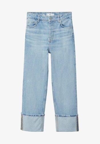 Straight leg jeans - lichtblauw