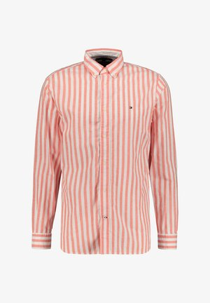 TOMMY HILFIGER HERREN HEMD REGULAR FIT LANGARM - Shirt - rot (74)