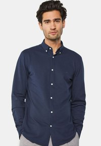 WE Fashion - SLIM FIT - Camicia - blue - 0