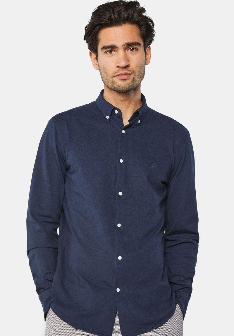 WE Fashion - SLIM FIT - Camicia - blue