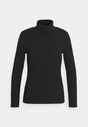ONLJOANNA ROLLNECK - Long sleeved top - black