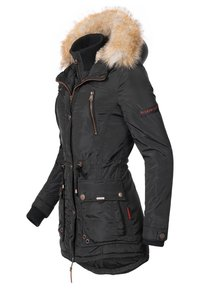 Marikoo - GRINSEKATZE - Winter coat - black - 2