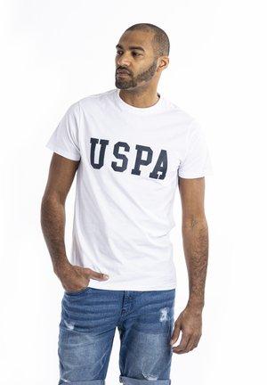 BILL - T-shirt z nadrukiem - white