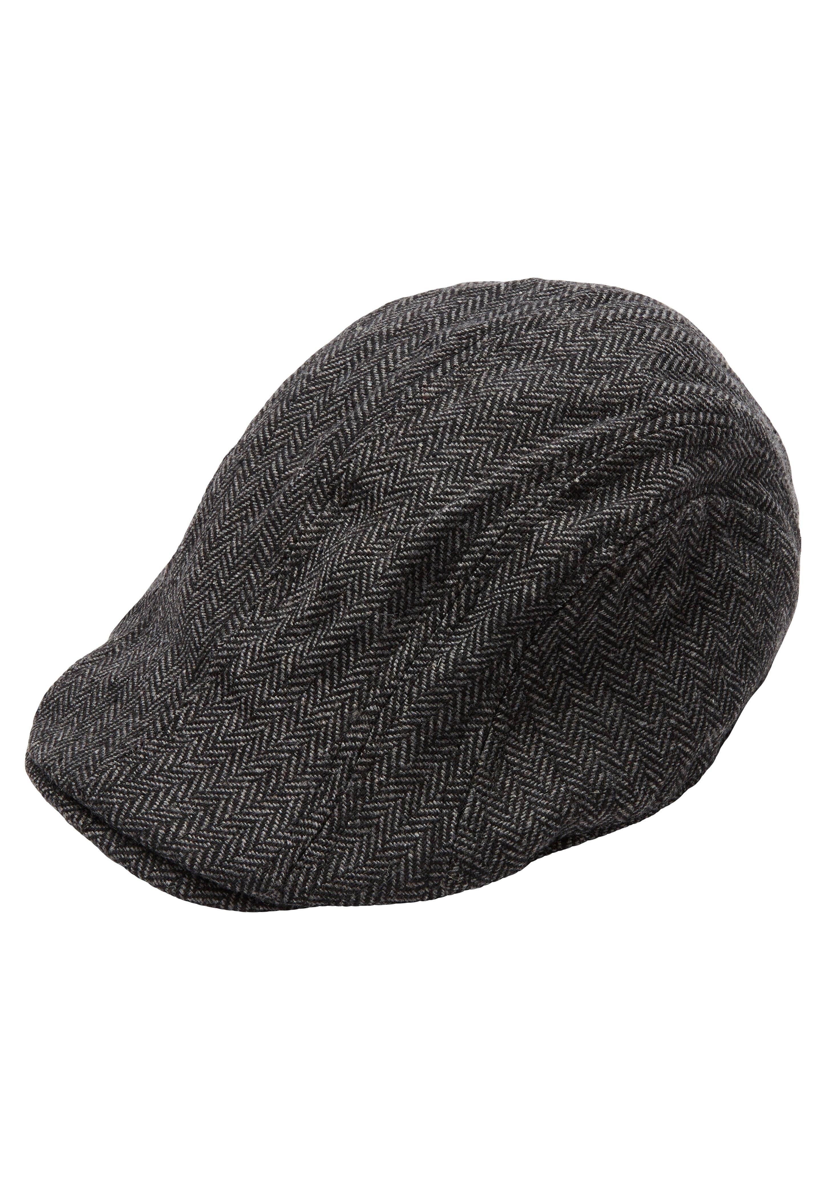 S.oliver Cap - Grey Heringbone/grau