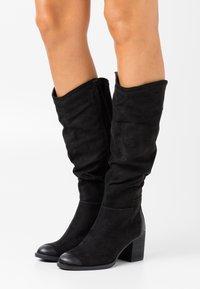 s.Oliver - Vysoká obuv - black - 0