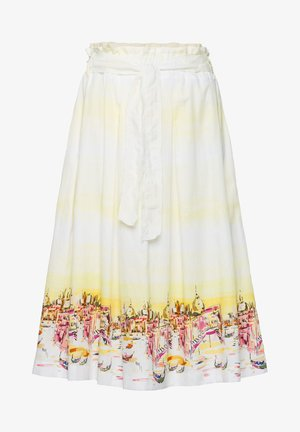 STYLE KLARA - A-line skirt - yellow