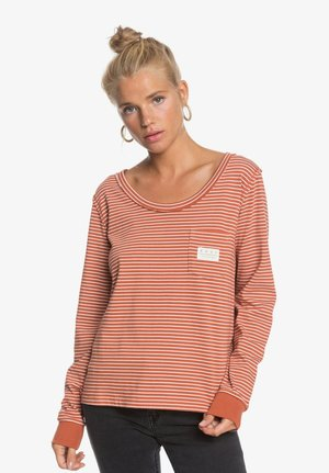 SUNLIT DREAM  - Long sleeved top - auburn me stripes