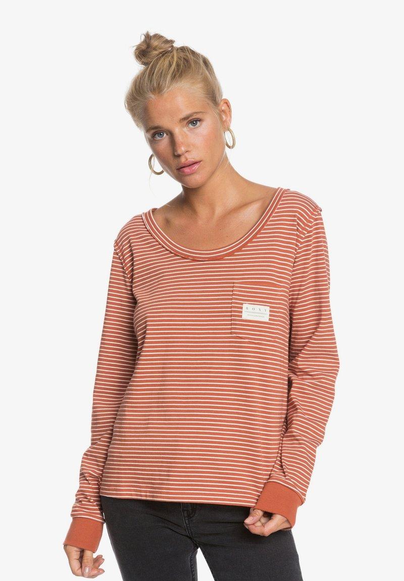 Roxy - SUNLIT DREAM  - Long sleeved top - auburn me stripes