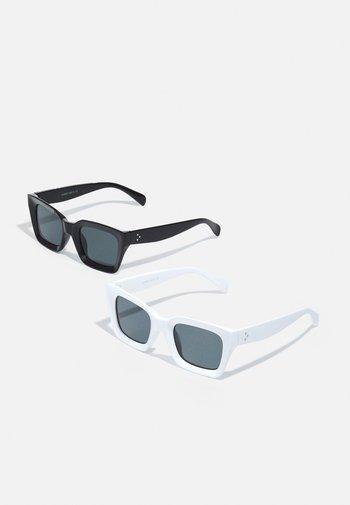 ONSSUNGLASS 2 PACK UNISEX - Sunglasses - black/white/black