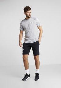 Under Armour - RIVAL LOGO SHORT - Sports shorts - black/white - 1