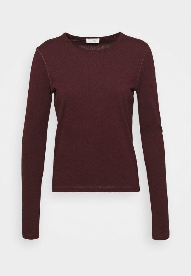 FAKOBAY - Langærmede T-shirts - griotte