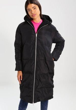 Winter coat - black/black