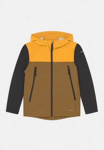 KONAN JR - Soft shell jacket - fudge