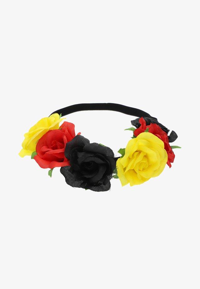 FUSSBALL EM FAN - Hair styling accessory - schwarz