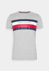 Tommy Hilfiger - STRIPE TEE - T-shirt z nadrukiem - grey - 3