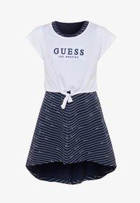 Guess - DRESS - Žerzejové šaty - blue - 0