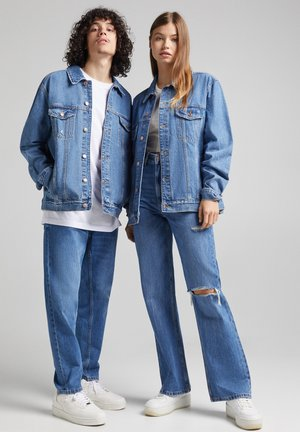 UNISEX - Veste en jean - blue denim