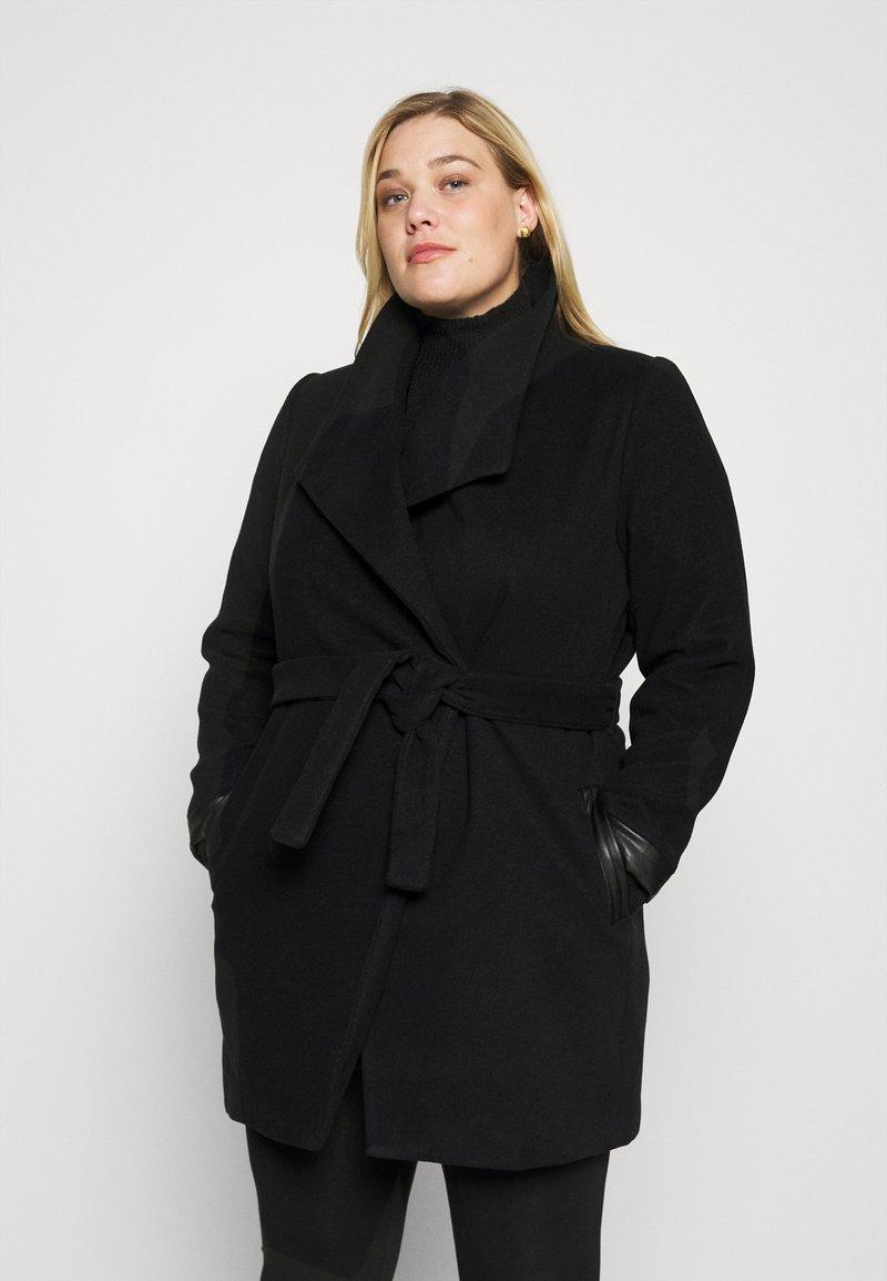 Vero Moda Curve - VMCALASISSEL - Classic coat - black