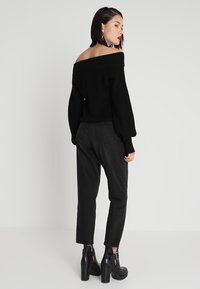 Monki - TAIKI  - Jeansy Relaxed Fit - black - 2