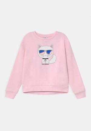 Mikina - pale pink