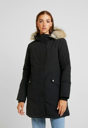 TECHNICAL  - Down coat - black