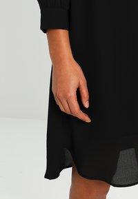 Selected Femme - SFDAMINA 7/8 DRESS - Shirt dress - black - 5