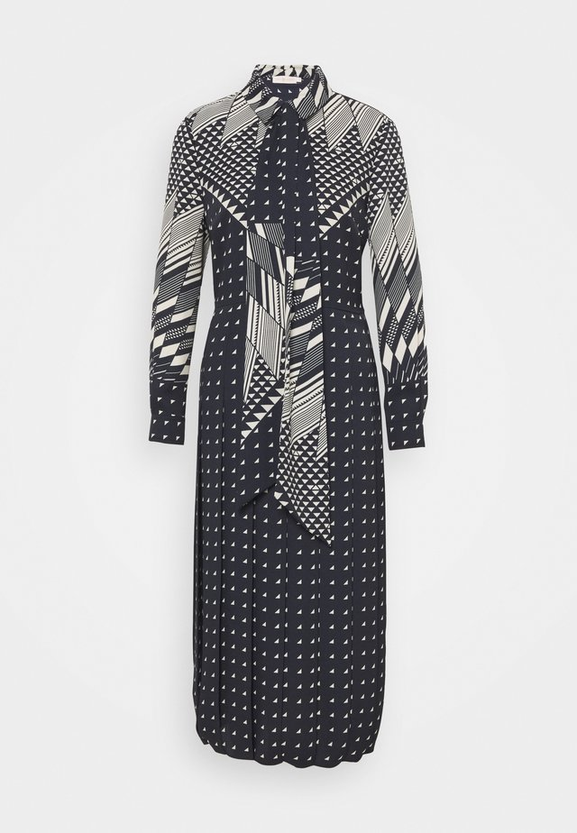 TRIANGLE GEO SHIRTDRESS - Shirt dress - windmill geo