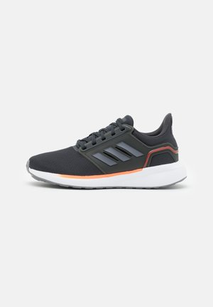EQ19 RUN - Zapatillas de running neutras - carbon/grey/solar red