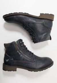Mustang - Bottines à lacets - navy - 1