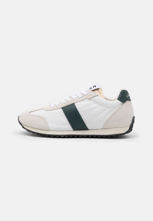 COURT PACE  - Baskets basses - offwhite/dark green