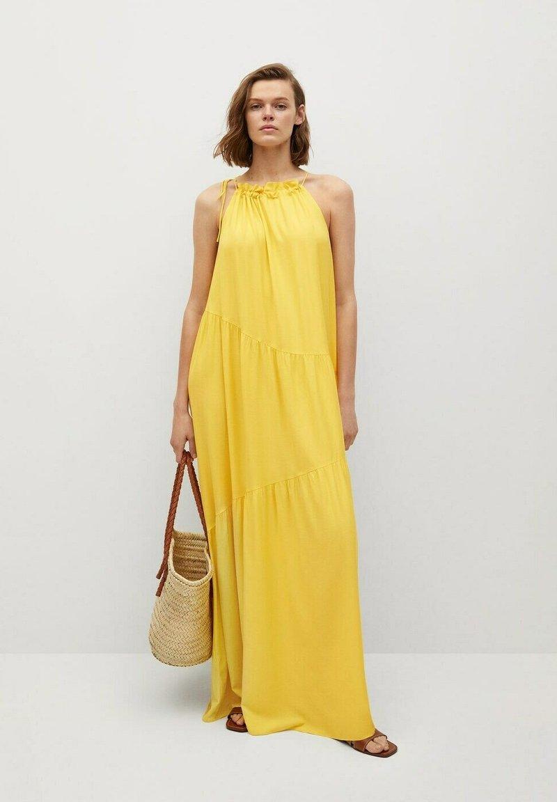 Mango - Maxi dress - lime