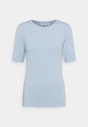 BYPAMILA - Print T-shirt - brunnera blue melange